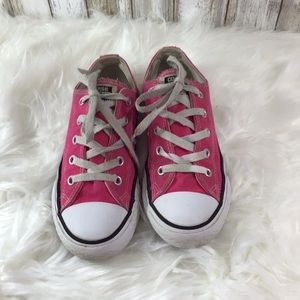 3cc353fc5ea7 Converse Shoes - Youth US 1 Pink AllStar Converse Sneakers